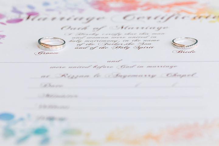 Wedding Code 結婚對戒